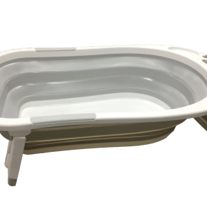 bañera plegable gris