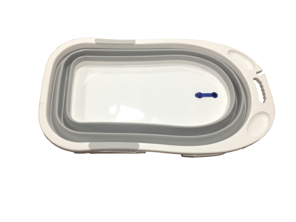 bañera plegable gris2
