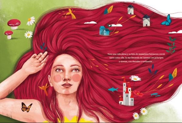 pelo rojo ariel